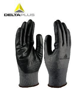 代爾塔手套 工作 手套 勞保丁腈涂層針織手套防切割透氣耐磨防滑