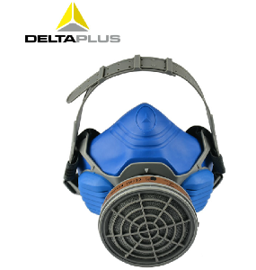 代爾塔防毒面具 防毒口罩噴漆專用化工防煙面罩活性炭防護口罩