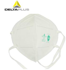代尔塔防尘口罩盒装雾霾PM2.5工业粉尘打磨骑行男女士通用可清洗