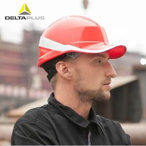 代尔塔安全帽工地安全帽工程建筑施工电力防砸领导透气高压绝缘帽