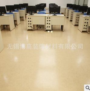 江蘇禮堂pvc地板 耐磨塑膠地板 吸音pvc地板廠家