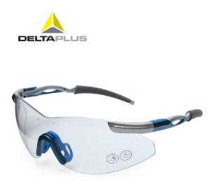 代尔塔护目镜运动骑行眼镜透明防护眼镜防雾防冲击防刮擦