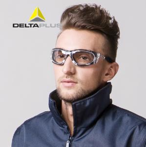代尔塔护目镜 防尘防沙防护眼镜 防风镜 防冲击户外骑行渐变眼镜