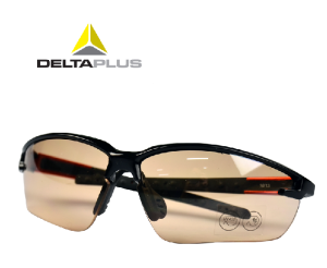 代尔塔护目镜 户外眼镜防紫外线防尘沙防风 男骑行防护眼镜