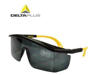代尔塔护目镜 防尘沙防风防护眼镜防紫外线户外偏光黑色运动骑行