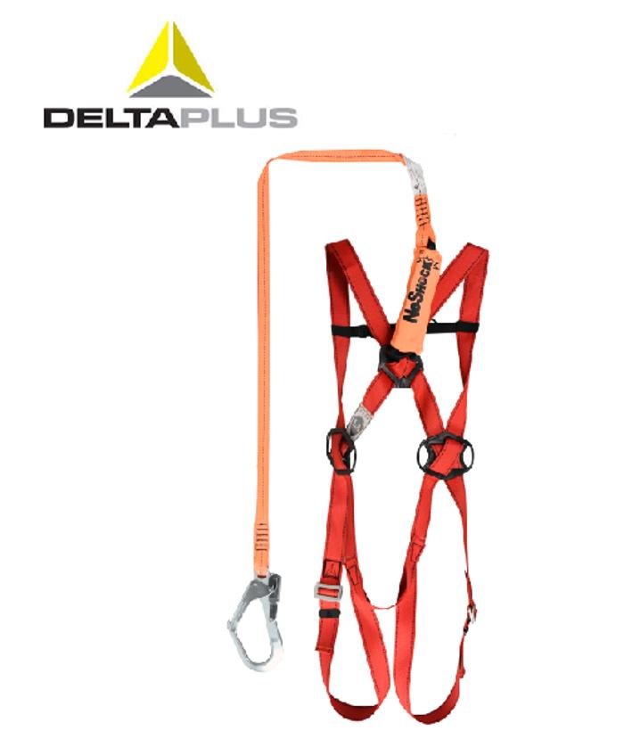 代尔塔安全带高空防坠套装减震带金属单勾挂点特价促销正品