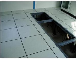 配电间用全钢高架活动地板,每片重22斤,同类产品拔尖品质