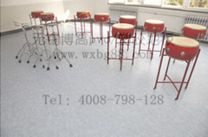 博高活动室防滑塑胶地板,活动室pvc地板厂家