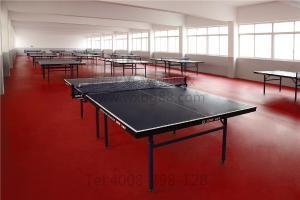 博高乒乓球防滑pvc地板,乒乓球专用运动塑胶地板厂家