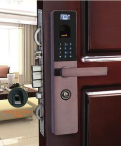 指紋鎖 家用防盜門鎖 指紋密碼鎖 大門鎖 智能密碼鎖 電子鎖