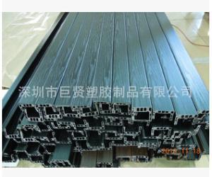 塑胶加工挤塑PVC型材 建材 LED系列