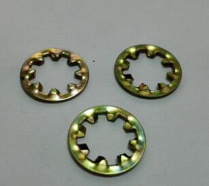 GB861.1内齿锁紧垫圈铁镀彩锌