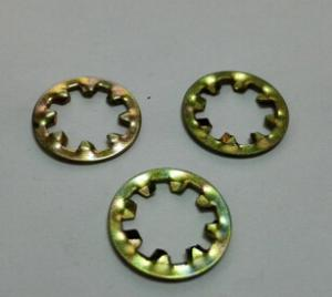 GB861.1內齒鎖緊墊圈鐵鍍彩鋅