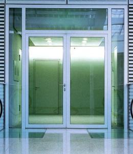 鋼質玻璃安全門