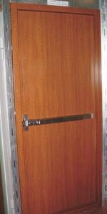 鋼質飾面貼面門
