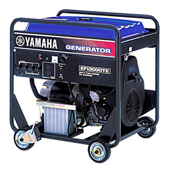 雅馬哈三相8KW汽油發電機EF13000TE
