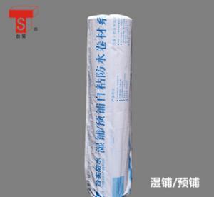 厂家直销 自粘聚合物改性沥青防水卷材 湿铺遇铺 屋顶防水材料