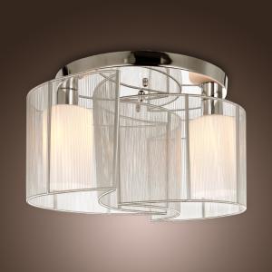 诗亮灯饰 白色太极吸顶灯简约现代客厅卧室书房灯酒店工程灯