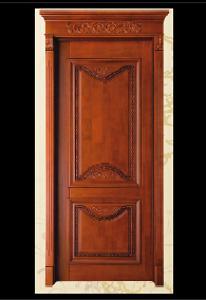 金阁门业  木皮烤漆套装门