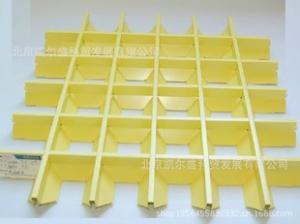 厂家直销各种异型格栅 大量供应铝格栅吊顶材料