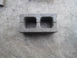 混凝土小型空心砌块(两孔)    强度高、耐久性好、尺寸标准、外形完整、色泽均一 上海质优新型建材有限公司