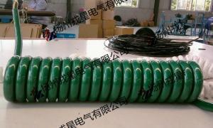 pur螺旋电缆、螺旋电缆