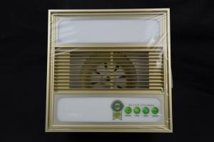 集成吊顶浴霸 照明取暖 30*30 土豪金面板 ABS面料 高端配置
