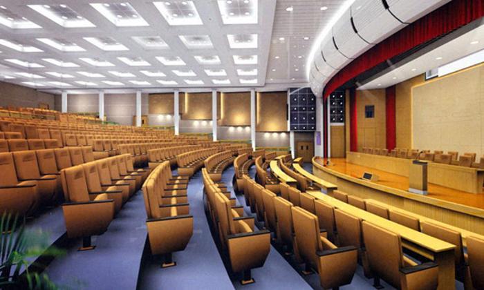 博高多功能厅耐磨吸音PVC地板,多功能厅塑胶地板厂家