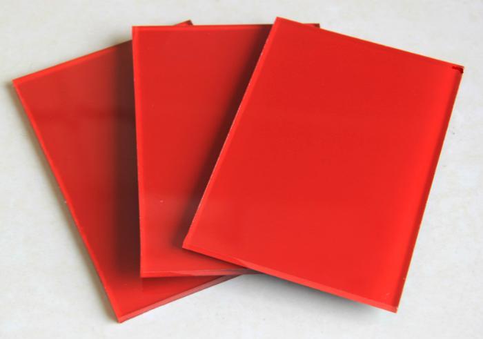 红色烤漆玻璃