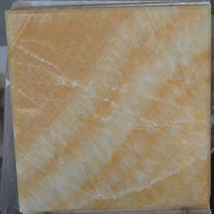矿山工厂供应松香玉石规格板 天然大理石米黄玉石板材 可定制生产
