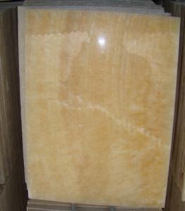 矿山工厂供应A级松香黄 米黄玉石规格板 天然松香玉大理石