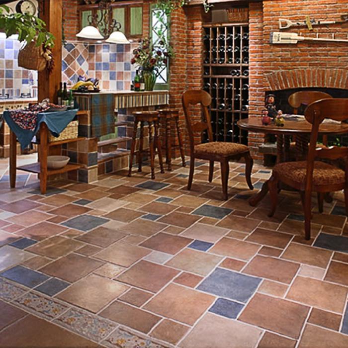 砖150美式欧式厨房卫生间300瓷砖阳台防滑地砖混拼