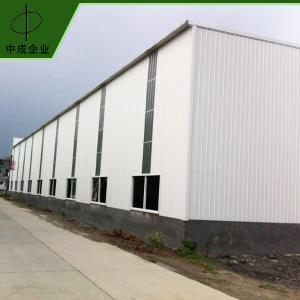 厂家批发 简易钢结构厂房 防水钢结构标准厂房