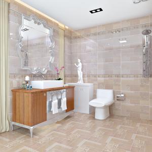 厨卫瓷砖 卫生间瓷砖 室内地砖 墙砖 釉面砖 美式乡村仿布纹瓷砖