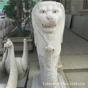 长期提供 天然异型石材加工 各种异型花岗岩雕刻 狮头异石雕刻