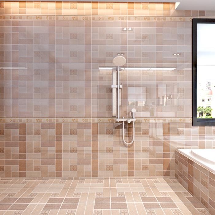 卫生间内瓷砖 300 600 釉面砖 室内地砖 厨卫瓷砖 仿布纹