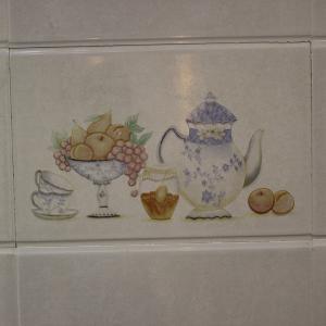 特价广东瓷砖 300x450厨房卫生间印花花纹亮光面不透水墙砖4833