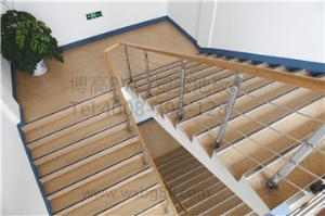 博高楼梯专用防滑耐磨塑胶地板,江苏楼梯pvc地板