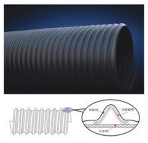 山东高品质PE钢带管300-1600MM