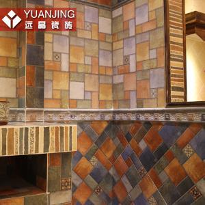 远晶 美式乡村厨卫瓷砖墙砖 仿古地砖300 300地爬墙仿古砖FA3D001