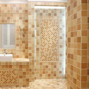 打折促销数码炫彩瓷砖 厨房卫生间300x300九方格彩色墙地仿古瓷砖