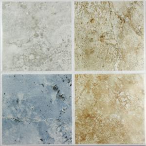 特价广东瓷砖33015 厨房卫生间欧式油画风格淡蓝色墙地仿古砖瓷砖