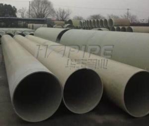 连续缠绕玻璃纤维增强塑料夹砂管  玻璃钢污水管