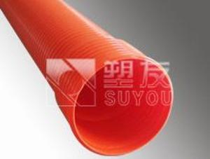 供应塑友高强度聚氯乙烯HPVC双壁波纹管 CM波纹管 HPVC双壁波纹管