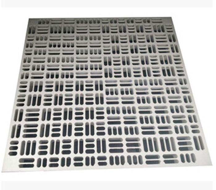 通風板通風口全鋼防靜電地板加強型可調節蜂巢通風地板架空孔制板