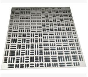 通风板通风口全钢防静电地板加强型可调节蜂巢通风地板架空孔制板