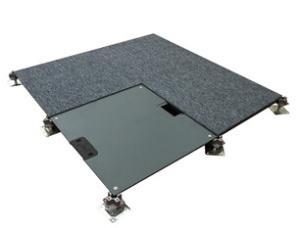 OA网络活动地板全钢超低智能化写字楼多功能线槽架空地板网络地板