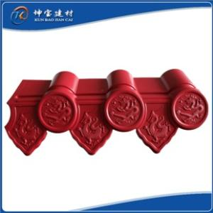 長期供應高品質精美樹脂瓦吊檐 低價合成樹脂瓦滴水檐配件