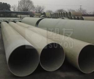 供應連續纏繞玻璃纖維增強塑料夾砂管