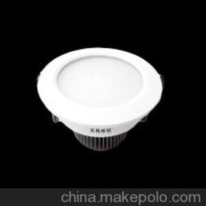 【亚韩照明 新款上市】供应led筒灯防眩光家庭客厅卧室孔灯7W全套
